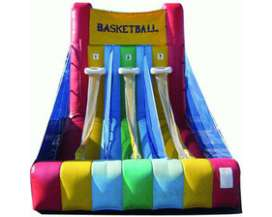 Autre offre: Basket 3 paniers - structure gonflable