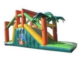 Autre offre: Toboggan jungle | Structure gonflable