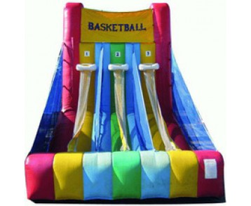 Basket 3 paniers - structure gonflable