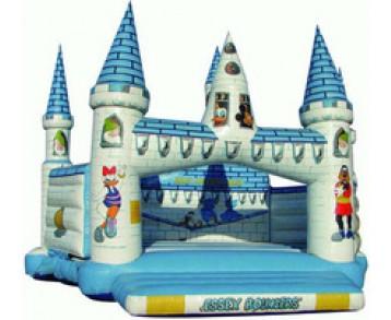 Château Disney - Structure gonflable