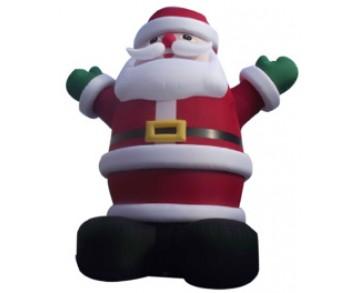 Père Noël gonflable